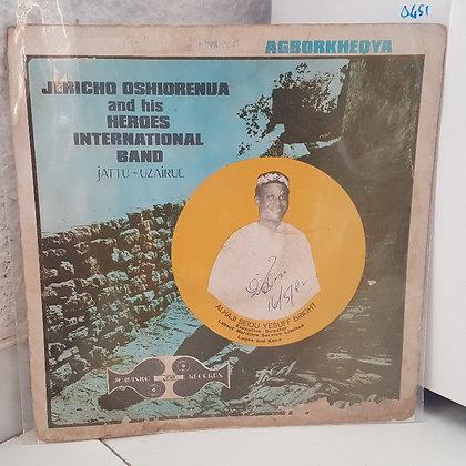 Jericho Oshiorenua And His Heroes International Band – Vol. 1 Agborkheọya