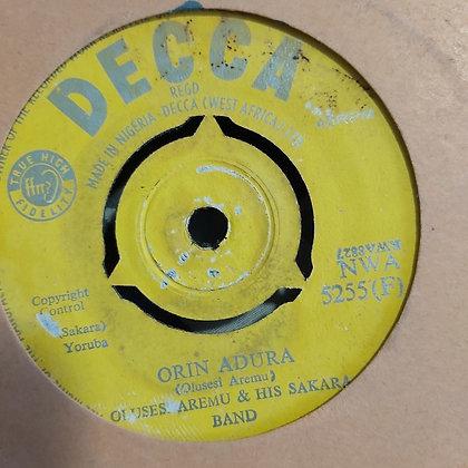 Olusesi Aremu & His Sakara Band - Orin Odun Titun [Decca] Nwa 5255