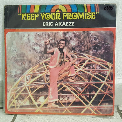 Eric Akaeze ‎– Keep Your Promise [Don't Stop Music – DNLPS 008]