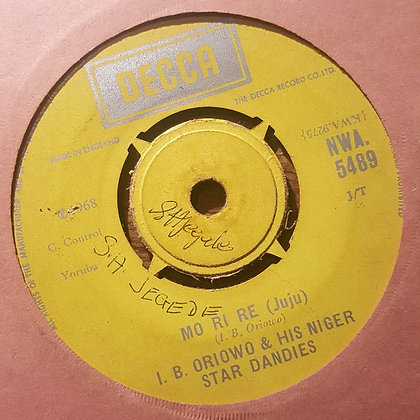 I.B. Oriowo & His Niger Star Dandies - Atowo Atomo [Decca]