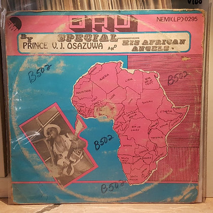 Prince V. J. Osazuwa And His African Angels ‎– OAU Special [EMI]