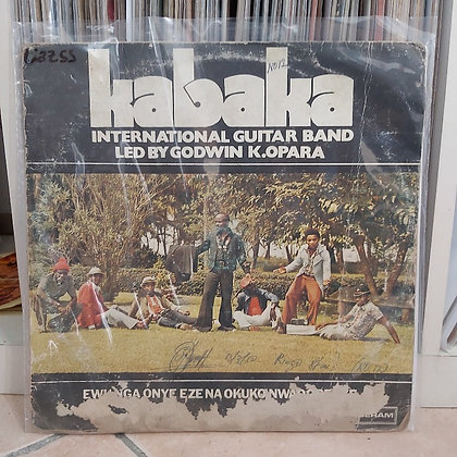 Kabaka International Guitar Band – Ewu Nga Onye Eze Na Okuko Nwaogbenye