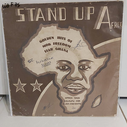 MOK Freedom Stars ‎– Stand Up Africa [MOK Records ‎– MOKLP 005]