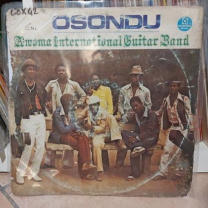Awoma International Guitar Band – Osondu [Anodisc]