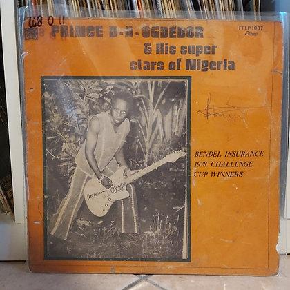 Prince D. A. Ogbebor And His Super Stars Of Nigeria – Bendel Insurance 1978