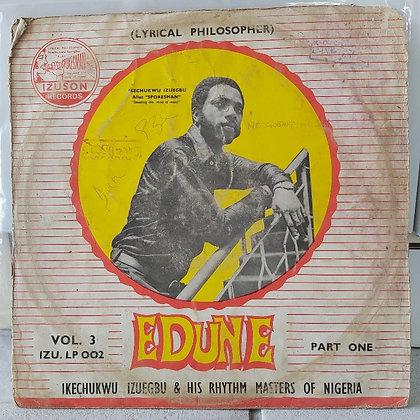 Ikechukwu Izuegbu & His Rhythm Masters Of Nigeria - Edune Part One