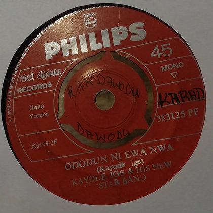 Kayode Ige & His New Star Band - Awero [Philips]