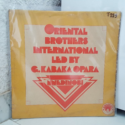 Oriental Brothers International ‎– Nnedinobi [Afrodisia]