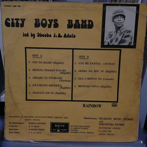 City Boys Band – Ɔdɔ Da Baabi [Rainbow - Scottie]