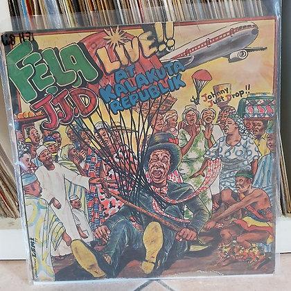 Fela Aníkúlápó Kuti And Afrika 70 – J.J.D (Johnny Just Drop!!) - Live!
