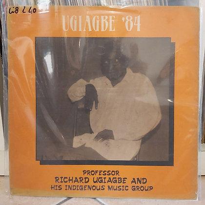 Professor Richard Ugiagbe And His Indigenous Highlife Band - Ugiagbe 84