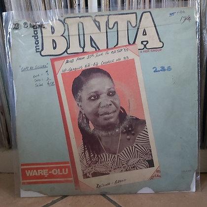 Madam Binta & Her Group - Ware-Olu [Ojikutu]
