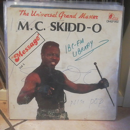 M.C. Skidd-O ‎– Message Vol. 1 [Duchess Maria  ‎– DMLP 002] OneAWay RAP