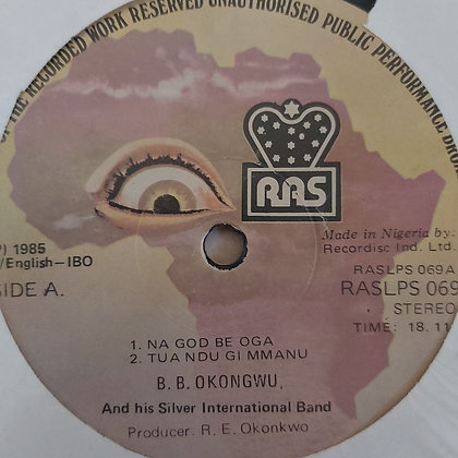 B.B. Okongwu & His Silver Brothers International [Raslps069]
