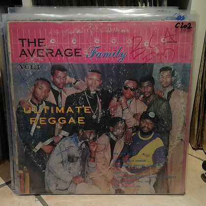 The Average Family – Ultimate Reggae [Average Records]