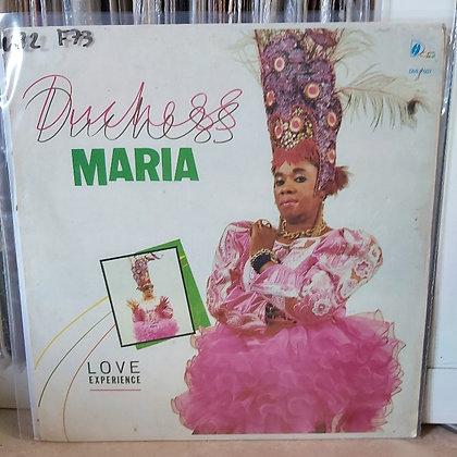 Duchess Maria – Love Experience [Duchess Maria Music – DMLP 001]