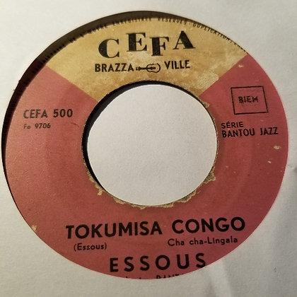 Essous et L'Orchestre Bantou Jazz - Tokumisa Congo [Cefa]