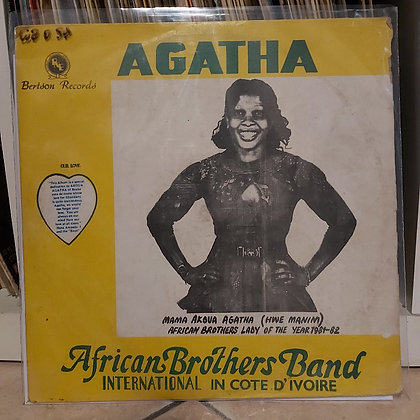 African Brothers Band International In Cote D'Ivoire ‎– Agatha