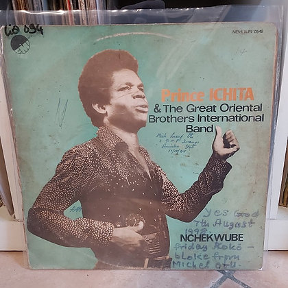 Prince Ichita & The Great Oriental Brothers International Band ‎– Nchekwube
