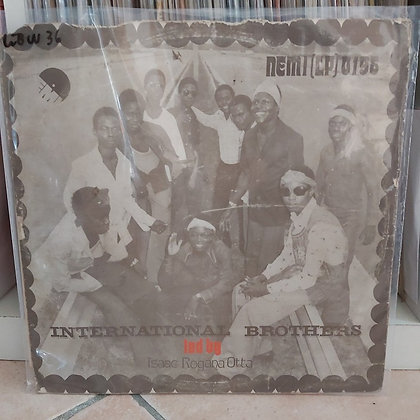 International Brothers led by Rogana Ottah [EMI – NEMI (LP) 0196]