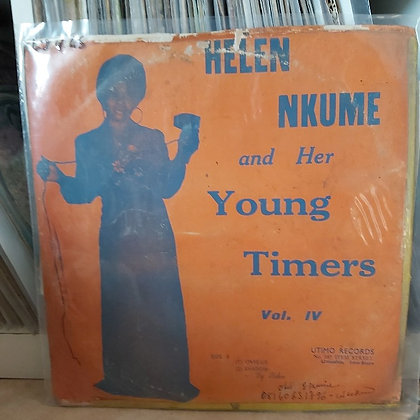 Helen Nkume And Her Young Timers – Vol. IV [Utimo Records – U. T. L. 001]