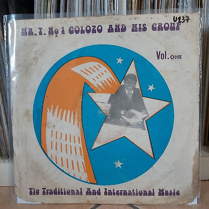 Mr. T . N°1 Colozo & His Group - Vol. 1 [Dobby Records]