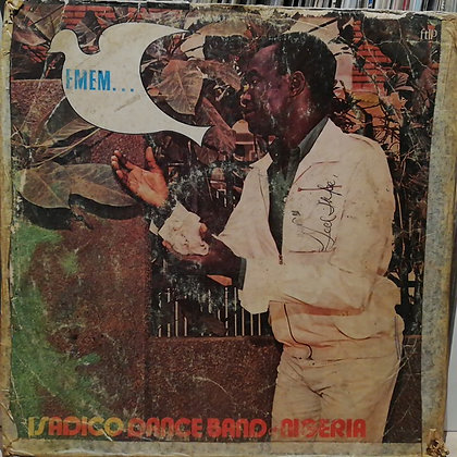 Isadico Dance Band Of Nigeria ‎– Emem... [Fontana] 1982
