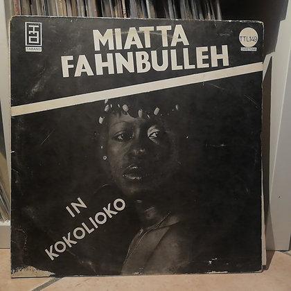 Miatta Fahnbulleh – In Kokolioko [Taretone – TTL 149] 1979