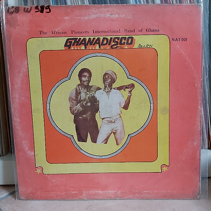 African Pioneers International Band Of Ghana - Ghanadisco [Natty]