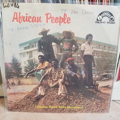 Orchestra Tumba Africa International – African People [Namaco]