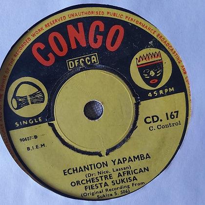 Orchestre African Fiesta – Lucifer / Echantion Yapamba [Congo Decca]
