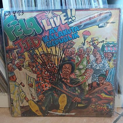 Fela Kuti - J.J.D (Johnny Just Drop!!) - Live!! At Kalakuta Republik