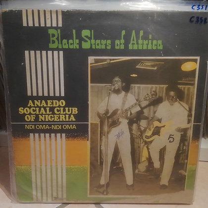 Black Stars Of Africa – Anaedo Social Club Of Nigeria - Ndi Oma-Ndi Oma