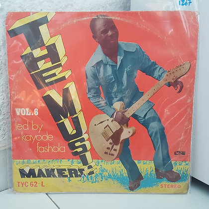 Kayode Fashola And The Music Makers – Vol 6 [Take Your Choice Records (TYC)]