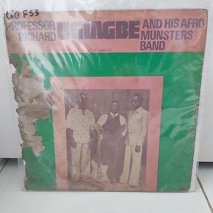 Professor Richard Ugiagbe And His Afro Munsters Band [Decca]