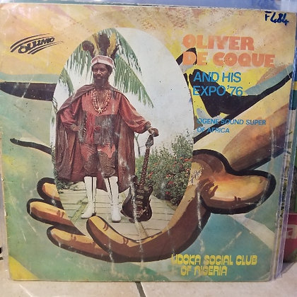 Oliver De Coque And His Expo'76-Ogene Sound Super Of Africa – Udoka Social Club