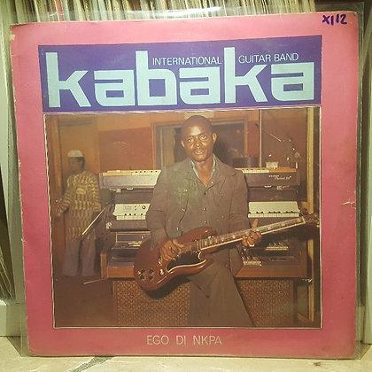 Kabaka International Guitar Band – Ego Di Nkpa [Afrodisia]