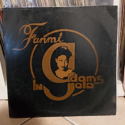 Funmi Adams ‎– Gold [Supra Records ‎– SR 001]