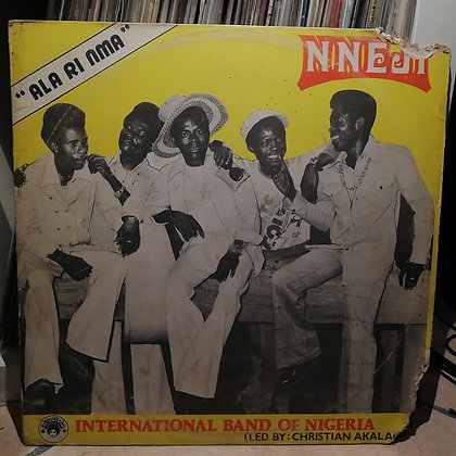 Nneji International Band Of Nigeria – Ala Ri Nma [Afrodisia] 1979