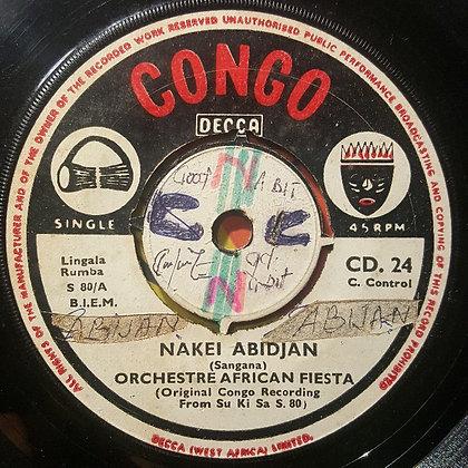 Orchestre African Fiesta - Nakei Abidjan [Congo - Decca]