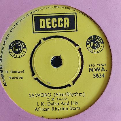 I.K. Dairo & his African Rhythm Stars - Ma Dele Mi [Decca]