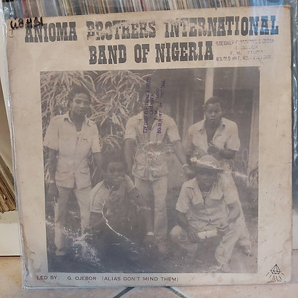 Anioma Brothers International Band Of Nigeria [Cordos]