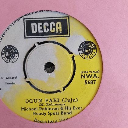 Michael Robinson & His Ever Ready - Irapada Itan [Decca] Nwa 5687