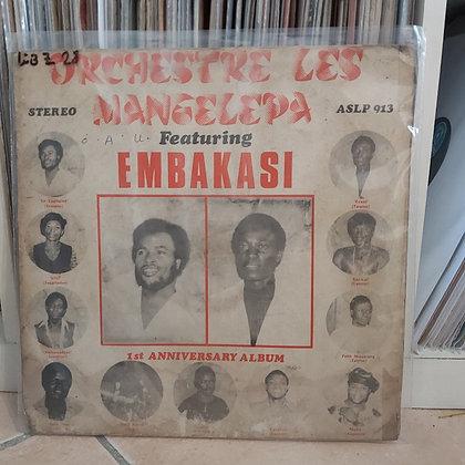 Orchestre Les Mangelepa – Embakasi - 1st Anniversary Album [Polydor]
