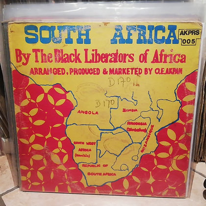 Black Liberators of Africa - South Africa [Akpan Records]