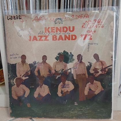 Kendu Jazz Band – Kendu Jazz Band '72 [Sangura]