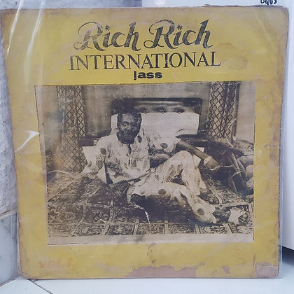 Rich Rich International Jass ‎– Vol. 1 [Gojass All Stars Records ‎– GASLP 001]