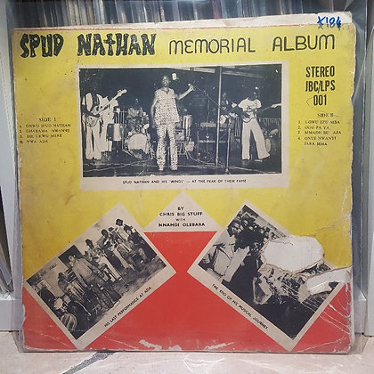 Chris Big Stuff & Nnamdi Olebara - Spud Nathan Memorial Album [JBC]