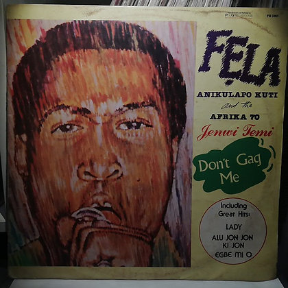 Fela Anikulapo Kuti And The Africa 70 ‎– Jenwi Temi [Philips]