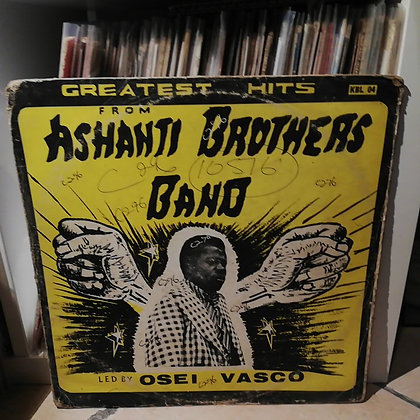 Ashanti Brothers Band ‎– Greatest Hits [ BHM (Brobisco House Of Music) ‎– KBL 04